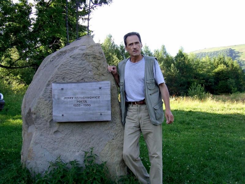 Aleksander Jasicki wBieszczadach  (archiwum autora)