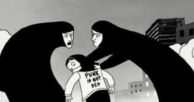 """Persepolis"", reż. Marjane Satrapi, Vincent Paronnaud"